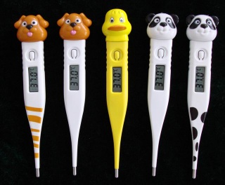 ECT-5C(E) Digital Clinical Thermometer - Cartoon Thermometer - ECT-5C(E)