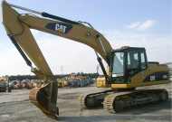 Caterpillar 320D Used excavator