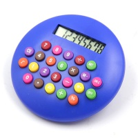 8 digits round novelty calculator - Novelty calcualtor