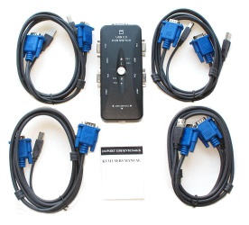 USB 2.0 KVM Switch - ED-KVM004