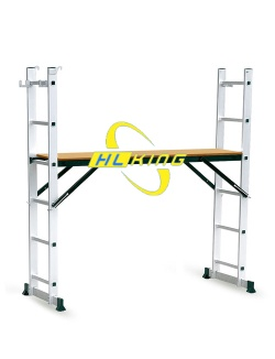 Aluminium folding Scaffolding ladder
