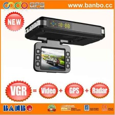 best car camrecorder with radar and gps HD vedio - VGR
