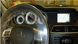 Benz C/A/B Class&ML/GL Interface: GPS/Navigation,Guideline,DVD,TV,Camera - N5: Benz-172