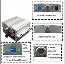 4G LTE signal booster KW17D-LTE-25 - 2