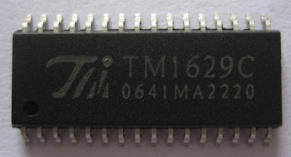 TM1629C LED board driver IC - TM1629C