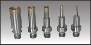 Threaded shank drill bits L95 - ZR-009