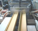 Wood and Plastic Profile Extrusion Line