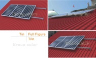 Pile-Ground Mounting System - grace solar