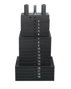 300 LB WEIGHT STACK, CAST - WT10013