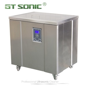 LCD three frequency ultrasonic cleaner 50L-200L - 3 frequncy