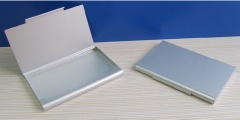Aluminium/Metal business card holder