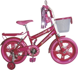 "HH-K1622 16"" pink MTB type specialized kid bicycle with unique design"