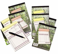 receipt books - carbonless books