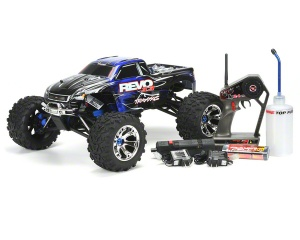 Traxxas Revo 3.3 4wd RTR Nitro Monster Truck w/2.4GHz 3-Channel Radio - TRA5309