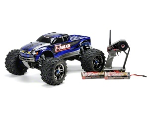 Traxxas E-Maxx Brushless RTR Monster Truck w/Castle Creations Mamba Monster System & Batteries - TRA3908