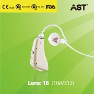 Lenx 16 Smart Built-in Tinnitus Masker RIC BTE Hearing Aid