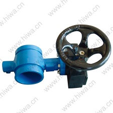 GROOVED BUTTERFLY VALVE - GROOVED BUTTERFLY VA