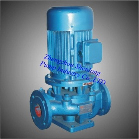 ISG vertical channel pump