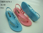 PVC sandal for lady - HM05-K176-1