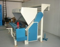 Cloth inspection machines and rewinding