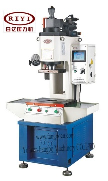 Abrasive moulding hydraulic press - hydropress