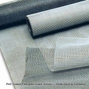 PVC coated fiberglass insect screen