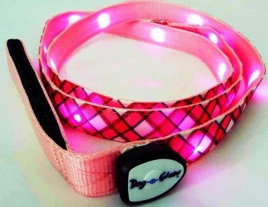 Colorful High-Light LED Flashing Dog Collar - LED DOG CHAIN
