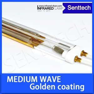 Infrared lamp medium wave with golden reflector - SAKMGT