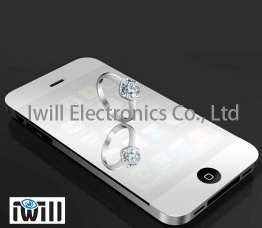 Mirror screen protector for iphone 5 - iwill-07