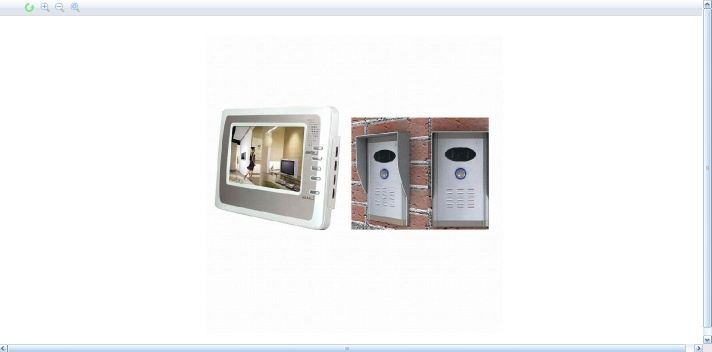 Photo & Video Memory Door Phone - VDP-C37DVR/ODS-5