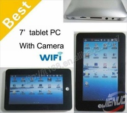 7 inch touch screen android 2.2 tablet PC - V107