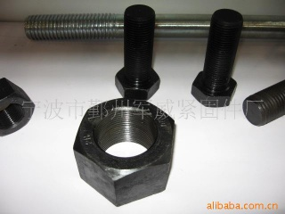 A182 stud bolt hex bolt hex nut - A182 stud bolt hex