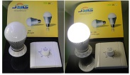 Dimmable 8W LED Global Bulb light - JYG-E27C-8W