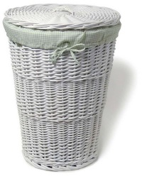 willow laundry basket - laundry basket
