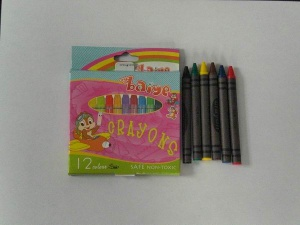 12 CT crayons - BY8006-12