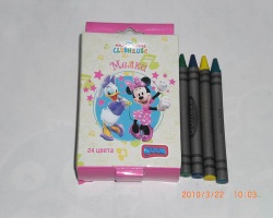 24 CT Crayons - BY8006-24