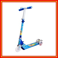 Kick Scooter Aluminum Color Flashing PU Wheels - KM-824A