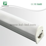 8W T5 LED Tube with 1-piece Bracket - JHH-T5B2w08-120