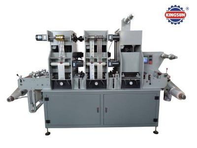 MYG-320 Label Hot Stamping and Die Cutting Machine