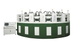 Curved Automatic Eva Foaming Injection Moulding Machine-Kouyi
