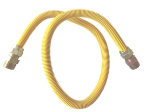 Yellow-Coated & Stainless steel Flexible Gas Connectors