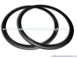 Carbon Bike Rims 50mm Clincher 700C Carbon Fibre Rims - 50mm carbon clincher
