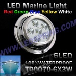 LED marine lights , boat lamp TD0070 6X3W - TD0070 6X3W