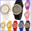 2014 fashion japan movt analog silicone watches for ladies - MT-S003