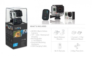 GoPro HERO3 11 MP Camcorder - 1080p - Gopro