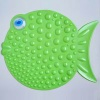 PVC bath mat green - MZ-0901-08