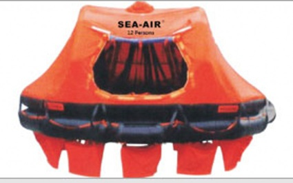 DAVIT-LAUNCHED INFLATABLE LIFE RAFT - DAVIT-LAUNCHED INFLA