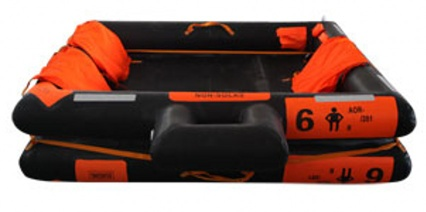 Open-Reversible Inflatable Liferaft