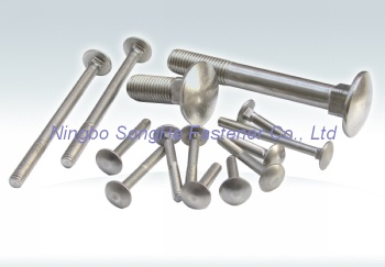 Carriage bolt, DIN603, ISO8677, Carriage bolts - Carriage bolt, DIN60