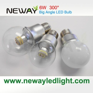 Mini 6W E27 300 Degrees LED Bulb Clear - NW-LED-Bulb-300T-6W-